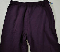 Mens Jerzees Athletic Gym Pants Size Xl Cotton Navy Elastic Was
