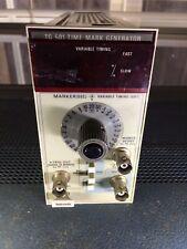 Working Tektronix Tg501 5s To 1ns Time Mark Generator For Oscilloscopes