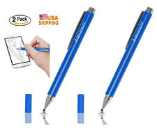2xFine Point Stylus Pen for iPad Air iPad Mini iPhone Samsung Galaxy s8 plus HTC