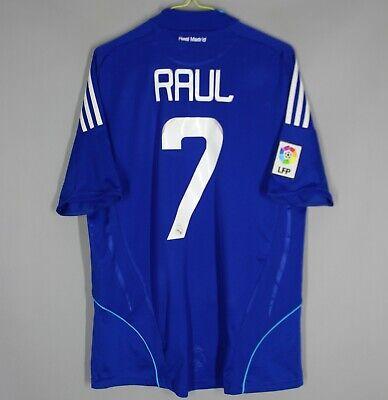 REAL MADRID SPAIN 2008/2009 AWAY FOOTBALL SHIRT JERSEY CAMISETA ADIDAS #7 RAUL   eBay