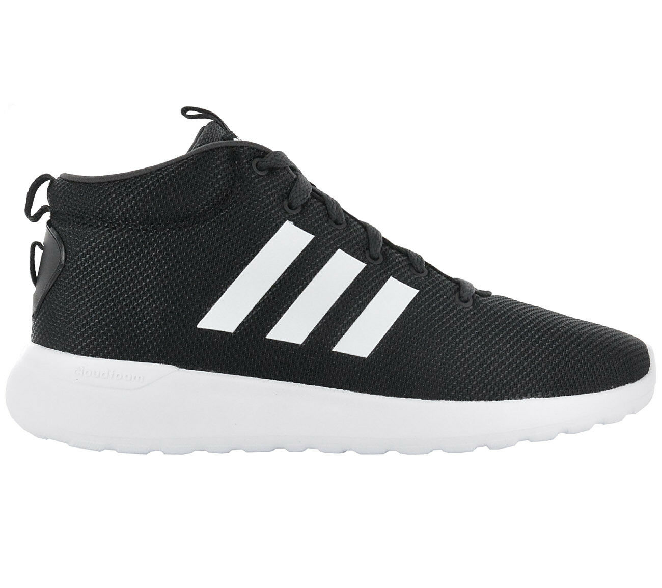 Venta de liquidación de temporada Adidas Lite Racer Mid CF Cloudfoam Zapatos negros Zapatillas De Hombres Nuevos