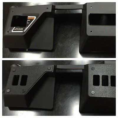 no switches Included 6, Aluminum STVMotorsports Custom Rocker Switch Dash Panel for Can Am Maverick /& Commander