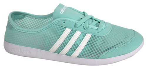 Adidas Neo Label QT Lite W Womens Running Trainers Shoes Blue F97695 WH