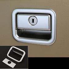 Chrome Interior glove box switch cover trim for Toyota Prado FJ150 2014-2016