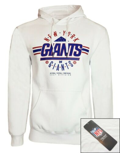 NFL New York Giants Hoodie Mens S M XL 2XL Jersey Hooded Top Official Apparel