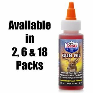 "Lucas Oil ""The Original Hunting Gun Oil"" - 2 oz Bottle - Qty (2) - 10006"