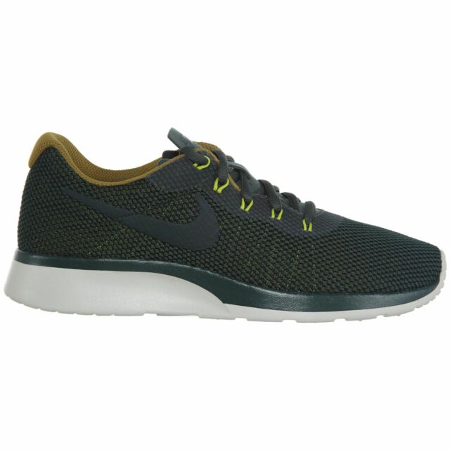 0936c78f2b1239 Nike Tanjun Racer Mens 921669-300 Vintage Green Mesh Running Shoes Size 11  for sale online