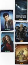 Doctor Who the Card Game 2009 c7e - 5 Art Cards: Shadow Proclamation, Slitheen