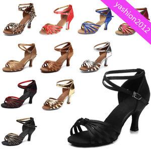 50a626f95129 Brand New Women s Ballroom Latin Tango Dance Shoes heeled Salsa ...