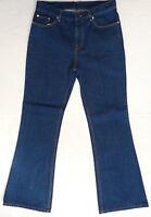 Sale Mens Retro 60s 70s Mod Indie Flared Denim Jeans Flares (indigo) K36