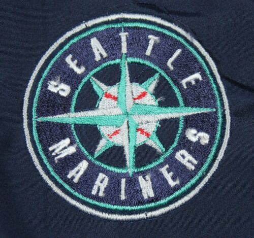 Seattle Mariners MLB Embroidered Full Zip Hooded Reversible Youth Jacket
