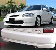 Honda civic JDM TypeR style EK9 EK4 EJ9 VTi front and rear lip splitter 96 - 98