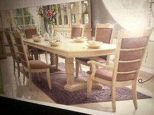 Furniture Village Brunswick Dining Table And 8 Chairs Ebay