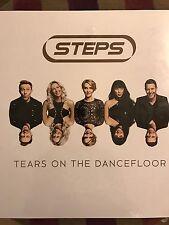 "STEPS - TEARS ON THE DANCEFLOOR 12"" NEON BLUE VINYL ALBUM RARE & SOLD OUT"