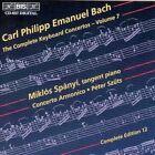 C P E Bach Spanyi Spany Szuts Complete Keyboard Concertos 7 CD