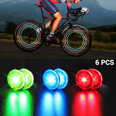 2 pcs LED Fahrrad Lampe Speichenlicht Beleuchtung Rad Speichen Licht Reflektor