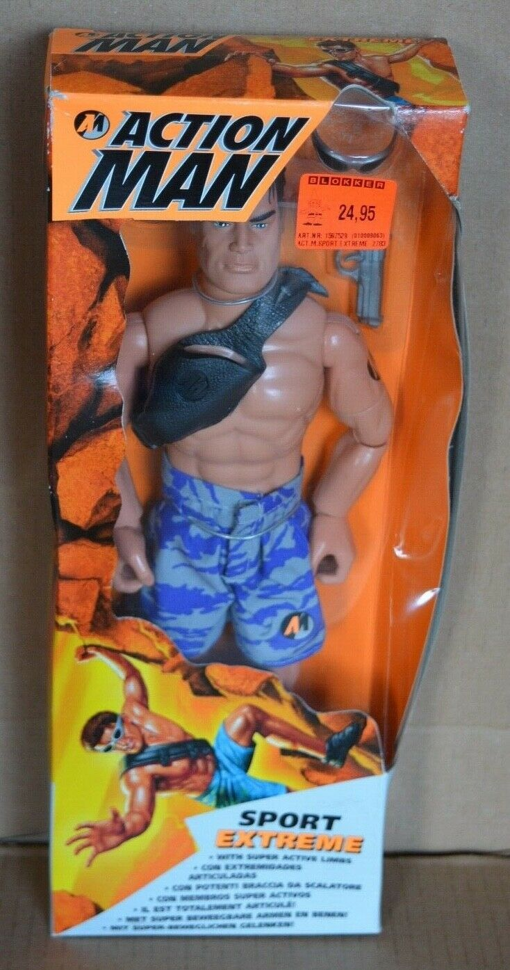 Action Man 1996 SPORT EXTREME Hasbro Boxed & Unused