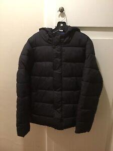 Essentials Mens Heavyweight Hooded Puffer Coat