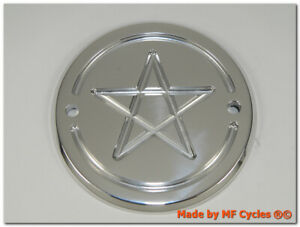 Zuendungsdeckel-Harley-Davidson-Point-Cover-Shovelhead-Evo-Softtail-FXD-Pentagram