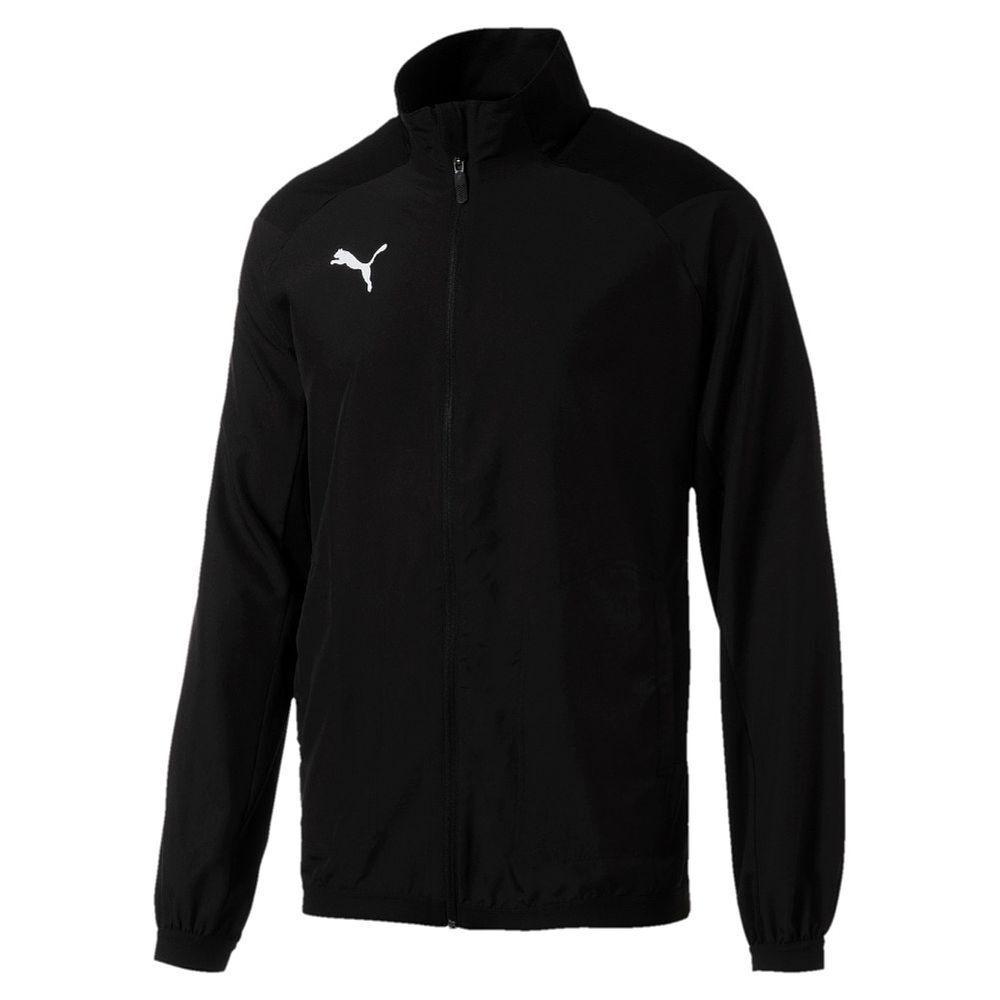 Puma Fußball Liga Sideline Trainingsjacke Fußballjacke Herren schwarz schwarz schwarz f3a79b