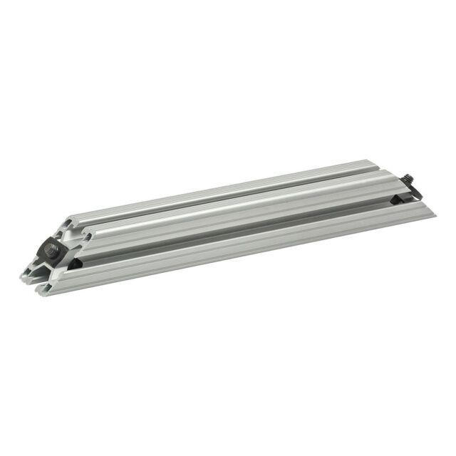 "80//20 Inc 15 Series  T-Slot Aluminum Extrusion 1515-ULS-BLACK x 24/"" Long N"