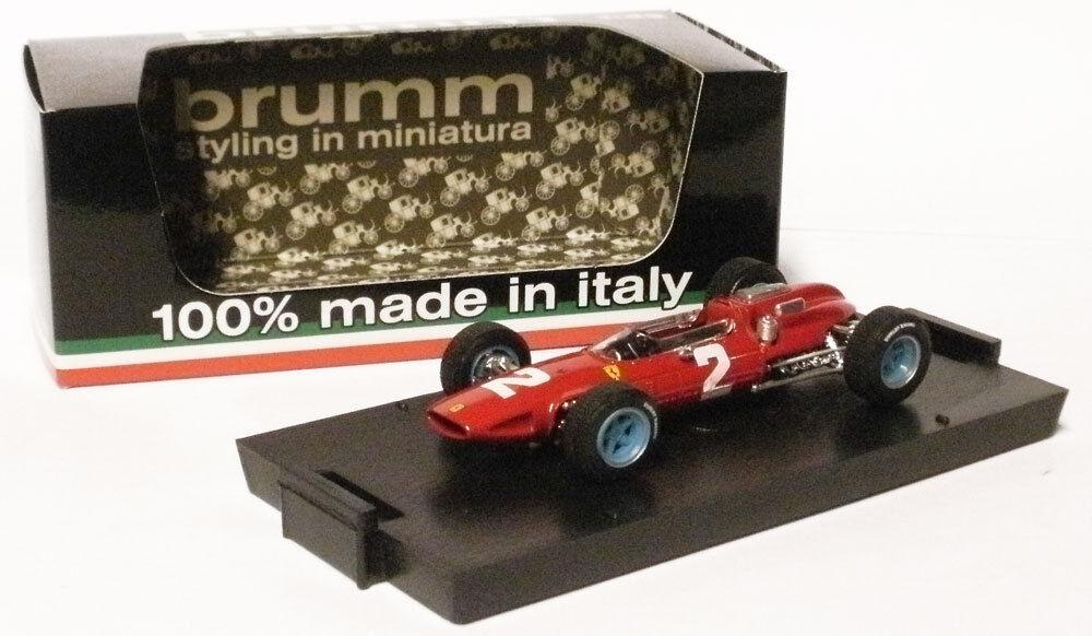Brumm R290 FERRARI 158 GP ITALIEN 1964-John Surtees Champion du monde, échelle 1 43,