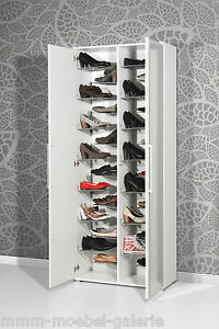 design spiegel schuhschrank extra gro f r paar schuhe wei schuhregal ebay. Black Bedroom Furniture Sets. Home Design Ideas
