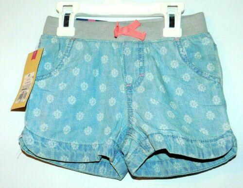 18 mo. 12 mo Cherokee Infant// Toddler Girls Shorts Light Denim