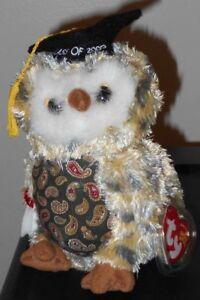 00bbd7a3670 Ty Beanie Baby ~ SMARTY the Graduation Owl (6.5 Inch)(Internet ...