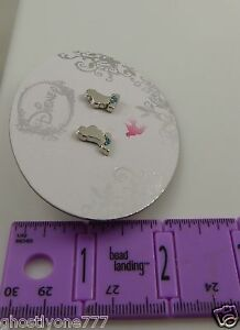 Disney-princess-Cinderella-pierced-earrings-studs-sillohuette-Cute