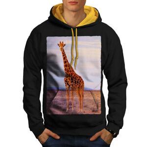 Africa Casual Jumper wellcoda Giraffe Africa Animal Mens Sweatshirt