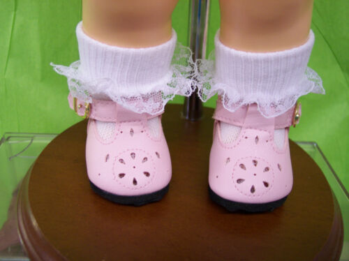 "New T-STRAP SHOES  FOR 16/"" TERRI LEE DOLL LIGHT PINK"