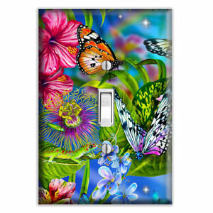 Details About Erfly Garden Decorative Light Switch Cover Plate