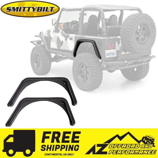 Smittybilt 76874 XRC Armor Rear Corner Guards For 1997-2006 Jeep Wrangler TJ