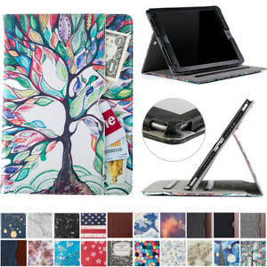 For Newest iPad 9.7 inch 6th Gen 2018 Folio Case with Pocket Stand Smart Cover