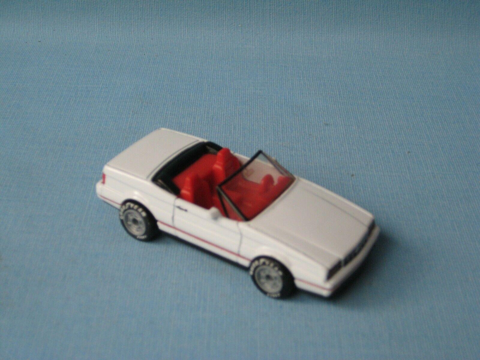 Matchbox GM Cadillac Allante White Body Toy Model Sports Car 70mm UB RARE.