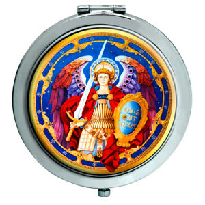 Archangel-Michael-Christian-Compact-Mirror