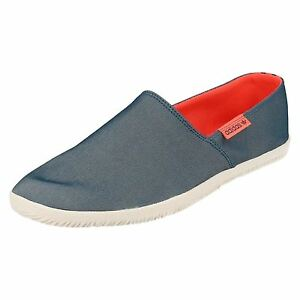 adidas adidrill men's navy casual slip on canvas shoes  ebay
