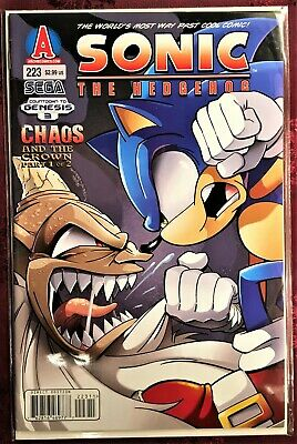 SONIC The HEDGEHOG Comic Book #219 January 2011 MINA 1st Ed Bagged Boarded MINT