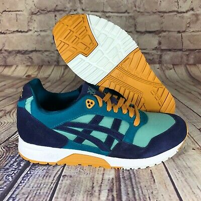 reputable site 116d0 3f905 Asics Tiger GELSaga Blue/Teal/Sage/Peacoat Casual Shoes 1191A141.301 | eBay
