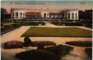 CPA-Deauville-La-Plage-fleurie-Le-Casino-515638