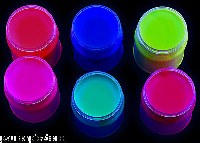 UV Glow Interior Paint | 250ML Jars 6 For The Price of 5 Deal | Water Based