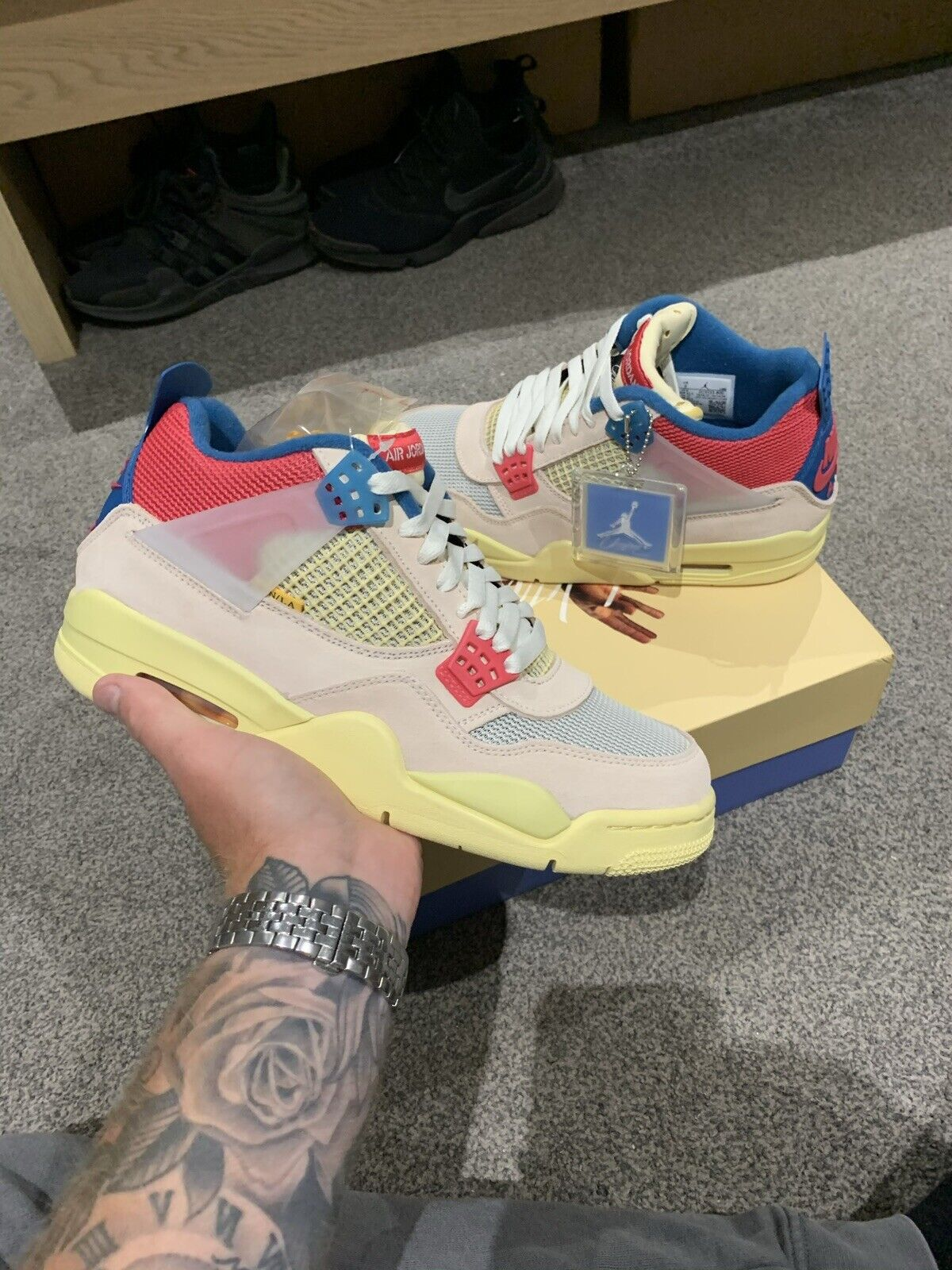 Jordan 4 Union Guava Uk8 Brand New Purchased From Union Online Trusted Seller✅