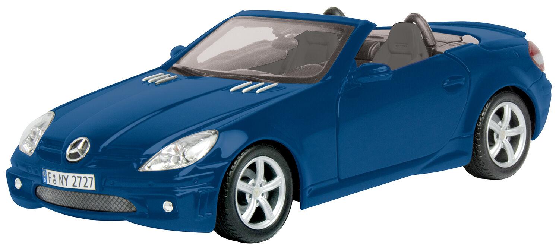 New Motormax -  Mercedes-Benz SLK 55  Metallic blu 1 18 - 73162