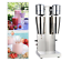 thumbnail 2 - New 110V Commercial Stainless Steel Milk Shake Machine Double Head Drink Mixer