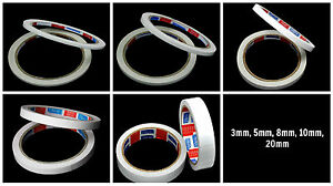 DOUBLE-SIDED-Adhesive-Sticky-TAPE-Paper-Craft-Card-Making-3mm-5mm-8mm-10mm-20mm