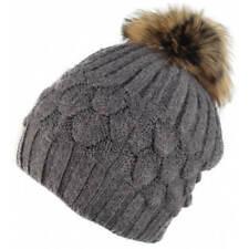 e415e195fea item 1 Winter Fur Pom Pom Hat Beanie Knitted Wool Cashmere Blend Bobble Hats  Womens -Winter Fur Pom Pom Hat Beanie Knitted Wool Cashmere Blend Bobble  Hats ...