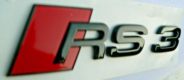 AUDI ORIGINAL RS3 inscription AUDI RS3 Embl/ème de lettrage Avant