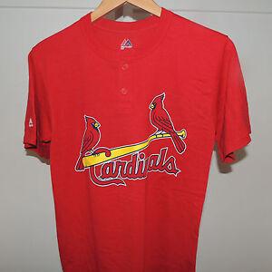 8e6b80e9134 Image is loading MLB-St-Louis-Cardinals-Baseball-Jersey-Shirt-New-