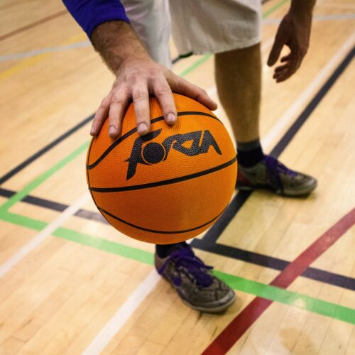 Available in Sizes 5-7 FORZA Training Basketball Net World Sports